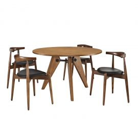 Bold Dining Chairs and Table Set of 5