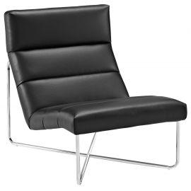 Sphere Upholstered Vinyl Lounge Chair