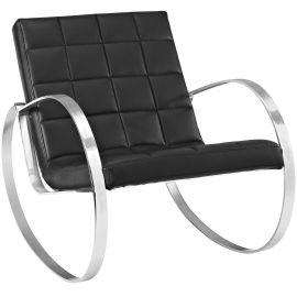 Gravity Upholstered Vinyl Lounge Chair