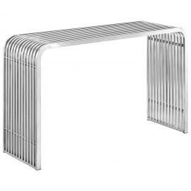 Ellie Stainless Steel Console Table