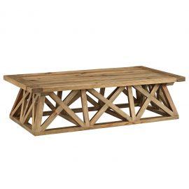 Base Wood Coffee Table