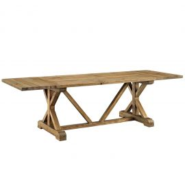 Nest Extendable Wood Dining Table