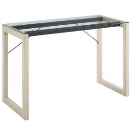 Grouping Glass Top Writing Desk