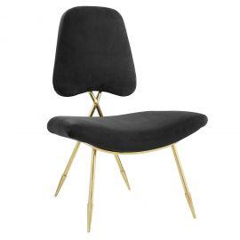 Muse Performance Velvet Lounge Chair