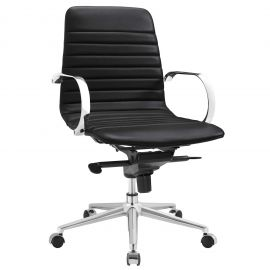 Furrow Ribbed Back Office Chair