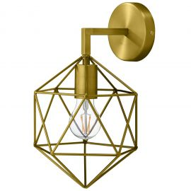 Glean Brass Wall Sconce Light Fixture