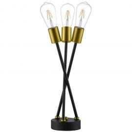 Garnish Brass Metal Table Lamp