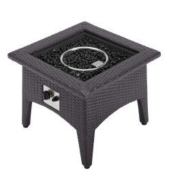 Seneca Outdoor Patio Fire Pit Table
