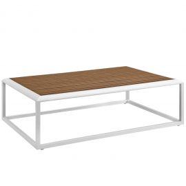 Posture Outdoor Patio Aluminum Coffee Table