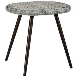 Strive Outdoor Patio Wicker Rattan Side Table