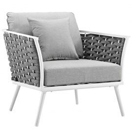Posture Outdoor Patio Aluminum Armchair