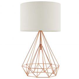 Lucia Rose Gold Table Lamp