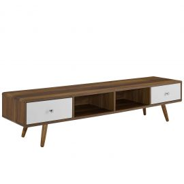 """Newscast 70"""" Media Console Wood TV Stand"""