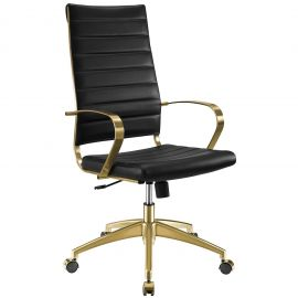 Boogie Gold Stainless Steel Highback Office Chair