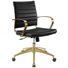 Boogie Gold Stainless Steel Midback Office Chair