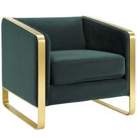 Imagine Accent Club Lounge Performance Velvet Armchair