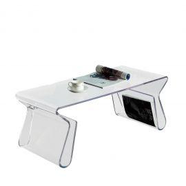 Journal Acrylic Coffee Table