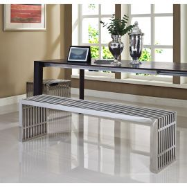 Grid Benches Set of 2
