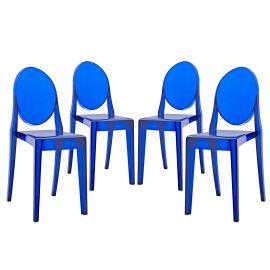 Milan Dining Chairs Set of 4
