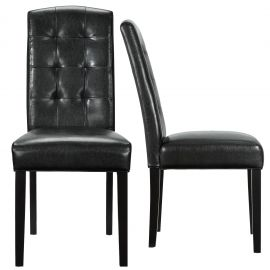 Penley Dining Chairs Vinyl Set of 2