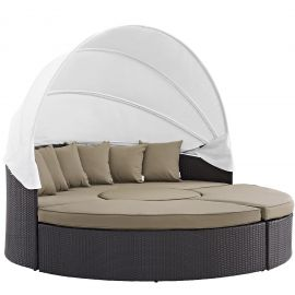 Pursuit Canopy Outdoor Patio Daybed
