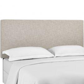 Ivy Twin Upholstered Linen Fabric Headboard
