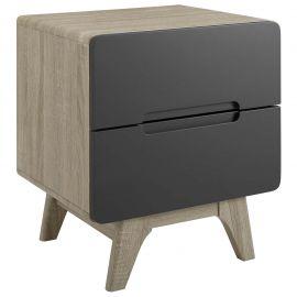 Basis Wood Nightstand or End Table