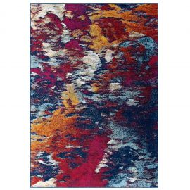 Juliana Foliage Contemporary Modern Abstract 5x8 Area Rug