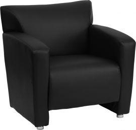 Marvelius Regal Series Black Leather Chair