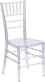 Elegant Crystal Ice Stacking Chiavari Chair