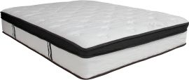 Agnes Solace Siesta 12 Inch Memory Foam and Pocket Spring Mattress, Full in a Box