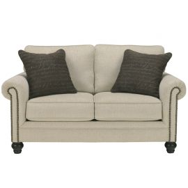 Signature Design by Ashley Michelle Loveseat in Linen