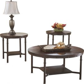 Signature Design by Ashley Fanila 3 Piece Occasional Table Set