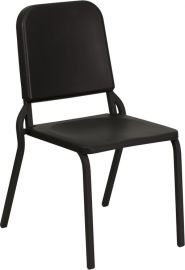 Marvelius Series Black High Density Stackable Melody Band/Music Chair