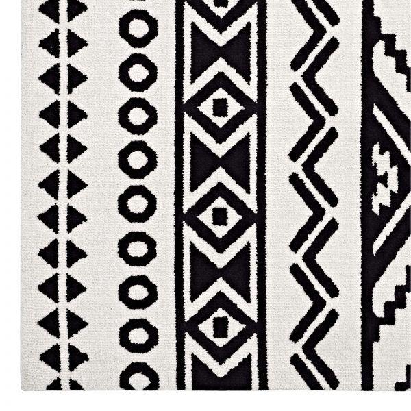 Hakan Geometric Moroccan Tribal 5x8 Area Rug